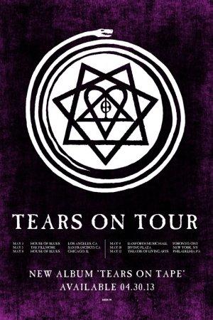 Tears On Tour - североамериканский тур отменен