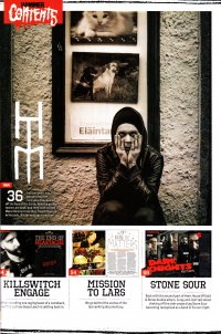 Сканы Metal Hammer Issue 243 - Limited Edition HIM Hardback Magazine