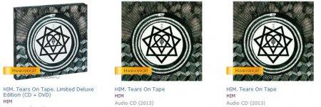 Русская и японская версии Tears on Tape