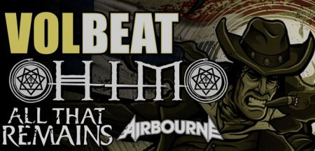 Совместный тур HIM, Volbeat, All That Remains и Airbourne