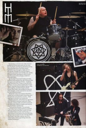 Перевод Metal Hammer HIM Hardback Magazine - Часть 4