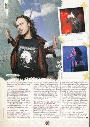 Перевод Metal Hammer Fanpack Magazine - Часть 1