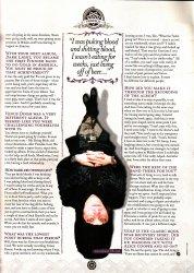 Перевод Metal Hammer Fanpack Magazine - Часть 2