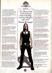 Перевод Metal Hammer Fanpack Magazine - Часть 10