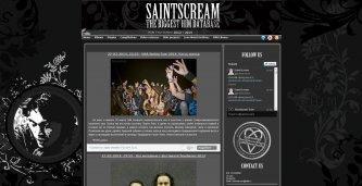 Новый дизайн SaintScream!