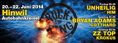 20.06.2014. Rock the Ring Festival, Швейцария