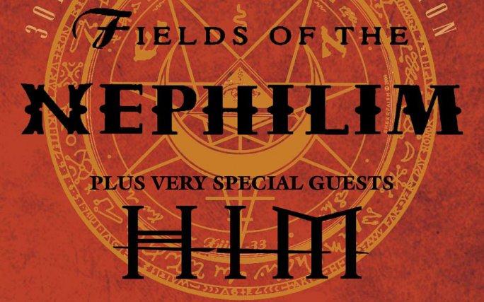 HIM - специальный гость на юбилейных концертах Fields Of The Nephilim