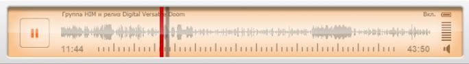 """Запись радио-шоу """"Восьмая Нота"""" о HIM и их концертном альбоме DVDoom"""