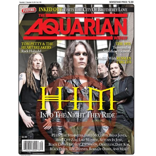 Архивное возрождение - интервью журналу The Aquarian Weekly