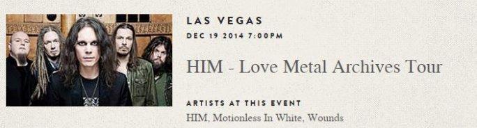 Прямая трансляция концерта в Лас-Вегасе