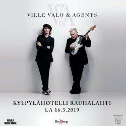 Ville Valo & Agents. Концерты 13-16.03.19