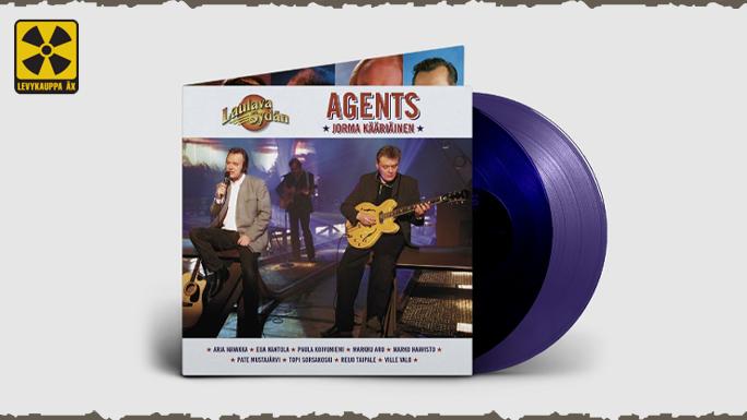 Agents - Laulava Sydän: переиздание на виниле