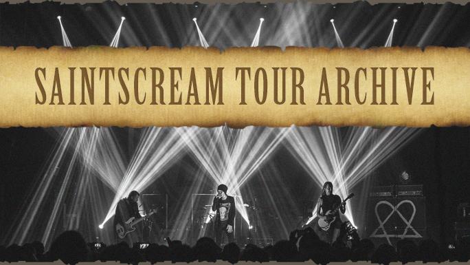 SaintScream' HIM Tour Archive